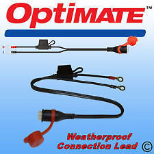 Optimate Accumate Weatherproof Permanent Eyelet Battery Lead TM Compatible TM71
