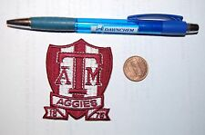 "Texas A&M Aggies 2 1/2"" Established 1876 Logo Patch College"