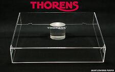 Dust cover for Thorens TD145,166,318,320.. + LOGO .Acrylhaube,couvercle,stofkap.