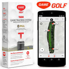 """NEW 2016"" GAME GOLF TAGS GOLF TRACKING SYSTEM FOR ANDROID SMART PHONES"