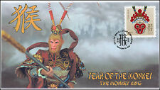 2016, Canada FDC, Year of the Monkey, Toronto, $2.50 Stamp, 16-009