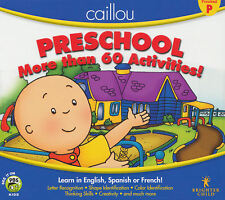 Caillou PRESCHOOL - Learn English, French, Spanish, Letters, Shapes, Colors, NEW