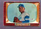 1955 BOWMAN BASEBALL DON NEWCOMBE #143 BROOKLYN DODGERS STAR