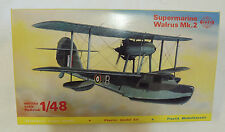 SMER SUPERMARINE WALRUS MK.2  SCALE FACTORY SEALED