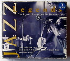 CD (s) - JAZZ LEGENDS - The Classic Collection of Swinging Jazz - 3CD-Box