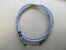 ATV Quad bike hydraulic braided brake hose pipe 178cms 10mm x 10mm banjo