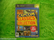 xbox *CAPCOM CLASSICS COLLECTION VOL.1* *x Volume One Microsoft PAL UK Version