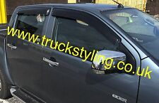 Isuzu DMax Wind Visor Deflectors Guards 2012-2015 models