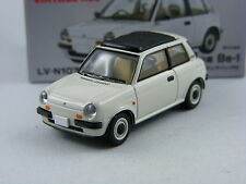 Nissan Be-1 Canvas Top in weiss,Tomica Tomytec Limited Vintage LV-N107a,1/64
