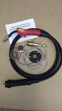 MIG SALDATRICE EURO TORCIA KIT DI CONVERSIONE INCLUDE MB15 3MTR TORCIA AND GAS