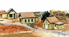 RGS REESE ST ROW HOUSES N Model Railroad Structure Building Plastic Kit GL8023