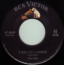 RUBY WELLS A Kiss And A Promise ((**45 from 1954**))