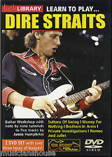 LICK LIBRARY Learn to Play DIRE STRAITS ROCK Sultans of Swing LESSON GUITAR DVD