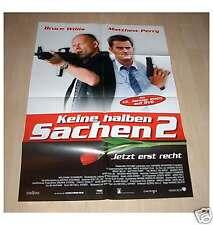 Filmposter A1 Neu Keine halben Sachen 2 - Bruce Willis