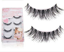 5 Pairs Handmade Natural Thick Long False Fake Eyelashes Eye Lashes Makeup MO
