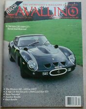 Cavallino Nr. 60 Newsstand Ferrari Magazin Journal 1991 book buch brochure press