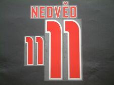 NEDVED NOME+NUMERO UFFICIALE REP.CECA EURO 2004 AWAY OFFICIAL NAMESET