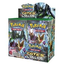 Pokemon TCG English XY10 Fates Collide Booster Box 36ct FACTORY SEALED IN HAND!!