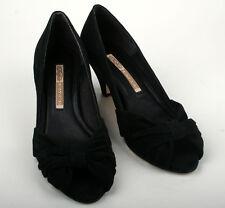 Buffalo Schuhe 6537-302 Kid Suede Black 01 Gr. 39