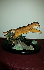 Lenox River Of The Tiger Majestic Sculpture Retired 2003 new no box