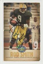 Rod Smith 2008 AUTOGRAPH COLLEGE FB HOF PHOTO SIGNED