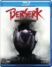 Berserk -The Golden Age Arc Movie Collection[Region A/1/English][Blu-ray]NEW BAM
