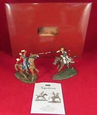 2011 FIRST GEAR NAPOLEONIC THE DEATH OF PONSONBY BY FRENCH 3RD LANCER 36085