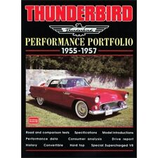 Thunderbird Performance Portfolio 1955-1957 book paper