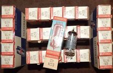 26 PIECES NOS NIB DIAMOND BOTTOM TELEFUNKEN TUBES *MINT COND ECH42 / 6CU7 GERMAN