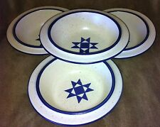 fabrik AMERICAN QUILT Four Cereal Bowls
