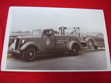 1936 FORD TOW TRUCK KENNYWOOD PA  BIG  11 X 17  PHOTO PICTURE