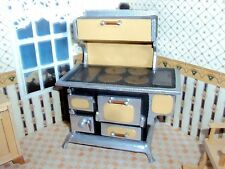 Vintage Dollhouse miniature kitchen  Wood cook stove Plan