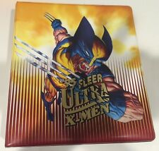 1995 Fleer Ultra X-Men Collector's Card ALBUM/BINDER Very Rare