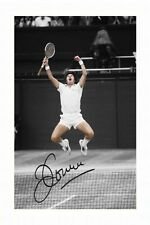 JIMMY CONNORS AUTOGRAPHED SIGNED A4 PP POSTER PHOTO