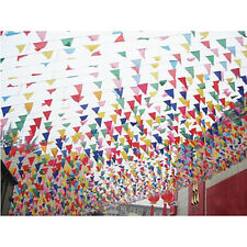 38M Long Giant Flag Bunting Garland Pennants Garden Party Fete Decoration New