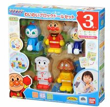 Block Doll set (Anpanman World Block Series)Japan Toy