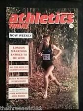 ATHLETICS TODAY - BUTCH REYNOLDS INTERVIEW - JAN 19 1989
