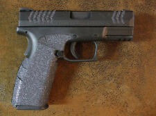 Black Textured Rubber Grips for the Springfield Armory XDM 9mm & .40 Cal