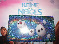 PANINI DISNEY FROZEN LA REINE DES NEIGES AUTOCOLLANT STICKER N° 108 brillant