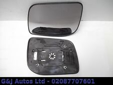 (A91) RANGE ROVER P38 LEFT SIDE PASSENGER HEATED DOOR MIRROR GLASS 1995-2002
