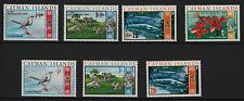 U80) x7 TIMBRES stamps (Neuf**MNH TBE) CAYMAN ISLANDS Caraïbes