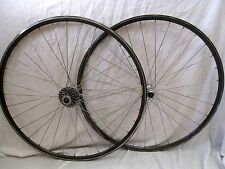 Shimano 600 hub wheelset made in USA Matrix C-II 700c rims Ultegra CS-6500 COG