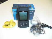 Senza fili Ecoscandaglio Fish Finder 180 Range Di Metri,4 level Scala di grigi,