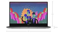 "2016 DELL XPS 13 9350 13.3"" QHD+ InfinityEdge TOUCH i5-6200U 8GB 256GB SSD WIFI"