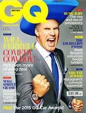 GQ UK 4/2015 WILL FERRELL John Stewart GAME OF THRONES Neil Jackson MURDOCH @New