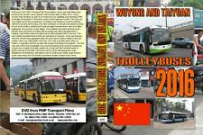3317. China. Trolleybus. May 2016. Wuyang and Taiyuan.  We start with the trolle