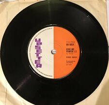 KING IWAH Give Me Power 2 MAX ROMEO Public Enemy Number One UPSET  1972 VINYL EX