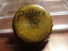 Peller's Lager - Hamilton - Canadian cork beer bottle cap - Canada Crown !!