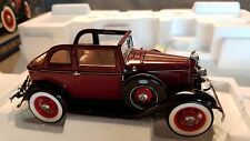 Franklin Mint 1932 Ford V8 Convertible Bonnie and Clyde 1:24