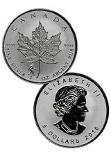 2016 Canada $5 1 Oz Reverse Proof Silver Maple Leaf - Bigfoot Privy SKU40568